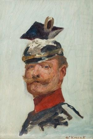 Wojciech Kossak (1856 Paryż – 1942 Kraków) Portret cesarza Wilhelma II, około 1915 r