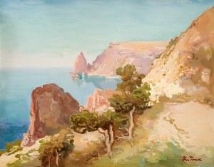 Iwan Trusz (1869 Wysocko – 1940 Lwów) Pejzaż krymski