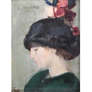 Odo Dobrowolski (1883 Czerniowice – 1917 Kijów) Kobieta w kapeluszu