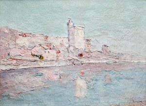 Włodzimierz Terlikowski (1873 wieś pod Warszawą – 1951 Paryż) Wieża Filipa Pięknego w Awinionie