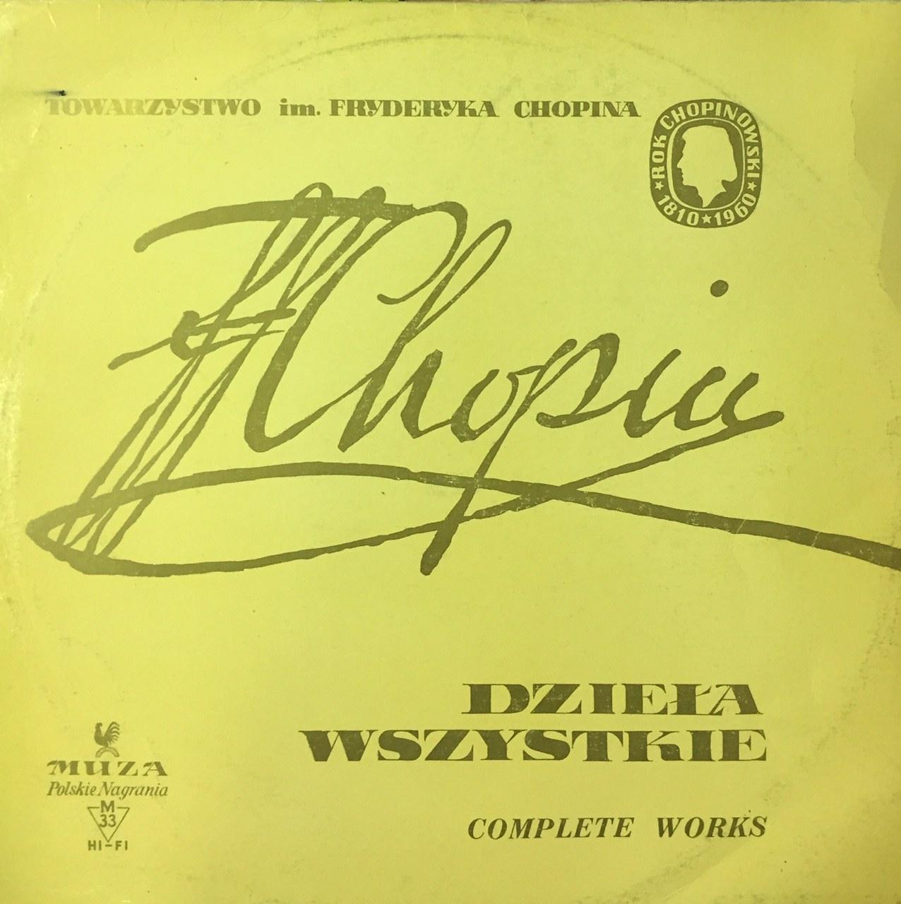 Fryderyk Chopin Dzieła wszystkie: Preludia op. 28, Halina Czerny-Stefańska