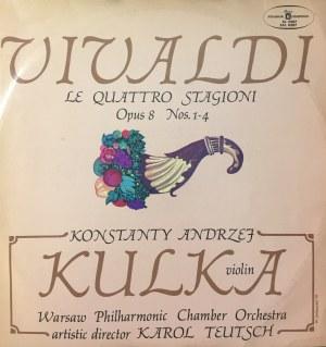 Antonio Vivaldi Cztery pory roku op. 8 nr 1-4, wyk. Konstanty Andrzej Kulka, dyr. Karol Teutsch