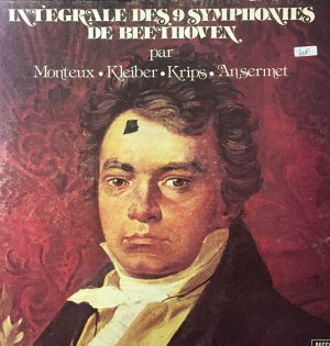 Ludwik van Beethoven, Symfonie, dyr. Pierre Monteux, Carlos Kleiber, Josef Krips, Ernest Ansermet