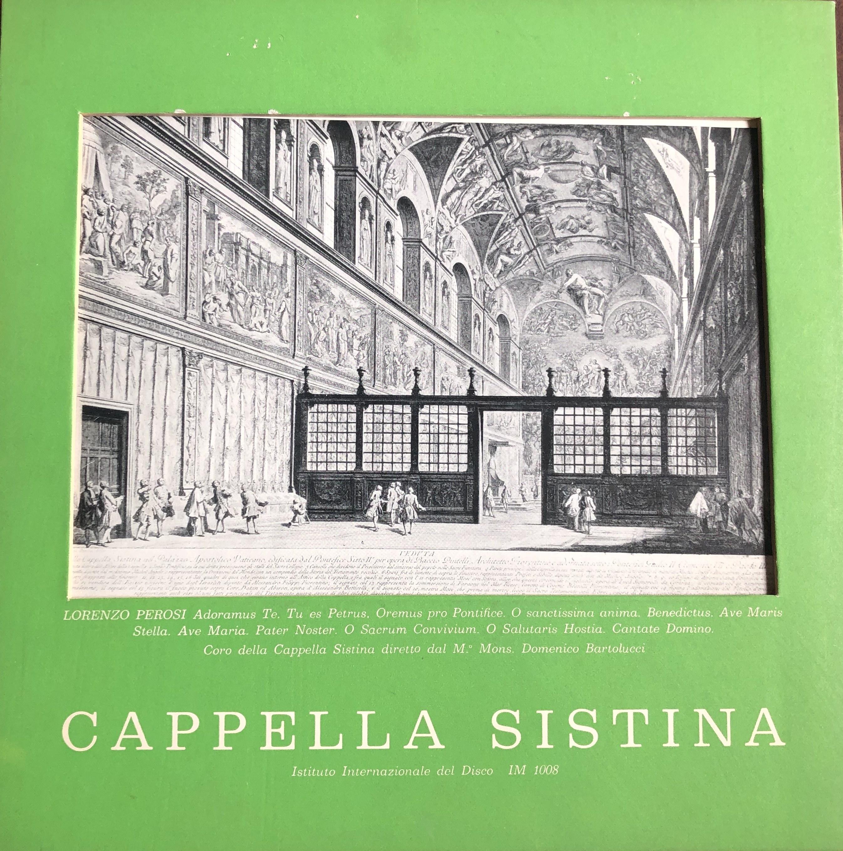 Lorenzo Perosi - Muzyka sakralna, wyk. Chór kaplicy sykstyńskiej, dyr. Domenico Bertolucci