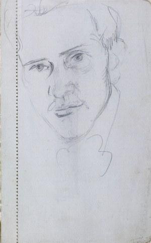 Wlastimil Hofman (1881-1970), Głowa młodego mężczyzny, ok.1905