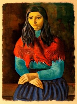 Mojżesz Kisling (1891 - 1953), Portret Kobiety