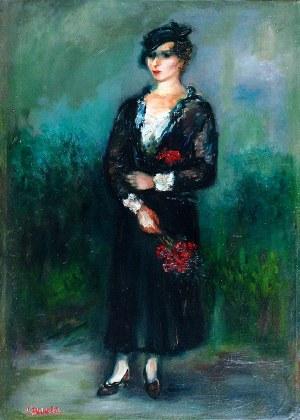 Jakub Zucker (1900 - 1981), Kobieta z kwiatami
