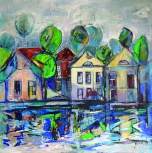 Jan Derek, Domki nad rzeką
