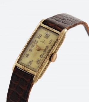 Firma OMEGA (zał. 1848, nazwa 1894), Zegarek damski, naręczny, art déco