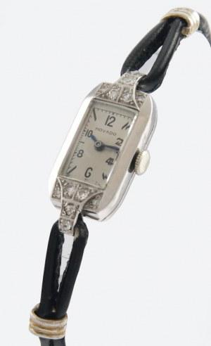 Firma MOVADO, Zegarek naręczny, damski, biżuteryjny, art-deco