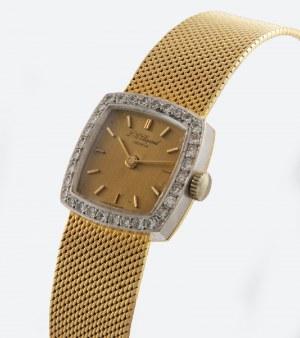 Firma L.U.C.-LOUIS ULYSSE CHOPARD (zał. 1860), Zegarek naręczny, damski, biżuteryjny, z bransoletą
