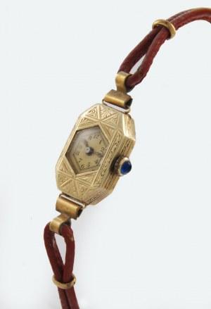 Zegarek damski, naręczny, art déco