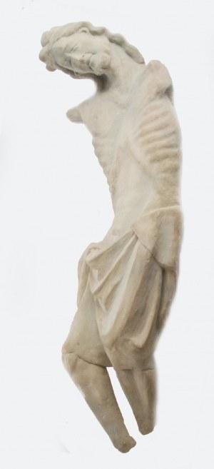 PRACA STUDENCKA - ĆWICZENIE III ROK, Kopia rzeźbiarska: fragment krucyfiksu z XV w, 2014