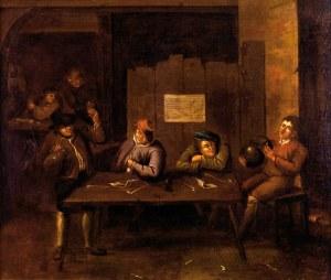 Niemiecki naśladowca malarstwa holenderskiego, XVIII w.