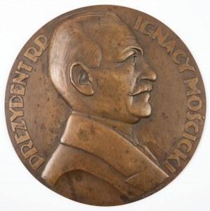 MEDALION - PREZYDENT RP IGNACY MOŚCICKI, l. 30-te XX w.
