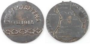 MEDAL, ODŁĄCZENIE CHEŁMSZCZYZNY OD POLSKI, 1918