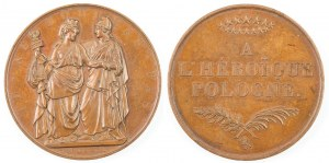 Medal A L'HEROIQUE POLOGNE, 1831