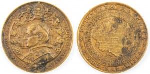 Medal PIUS XI W DZIESIĄTĄ ROCZNICĘ CUDU NAD WISŁĄ, 1930