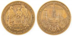 Medal NA 500LECIE POWROTU GDAŃSKA DO POLSKI, Mennica Państwowa, 1954