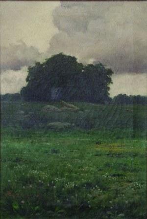 Roman Bratkowski (1869-1954), PEJZAŻ, 1899 r.