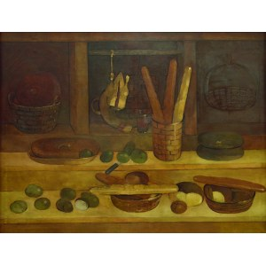 Kiejstut Bereźnicki (1935), MARTWA NATURA, 1980 r.