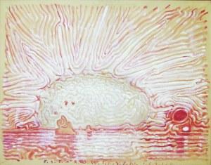 Franciszek Starowieyski (1930-2009), KOMPOZYCJA 1691, (1991 r.)
