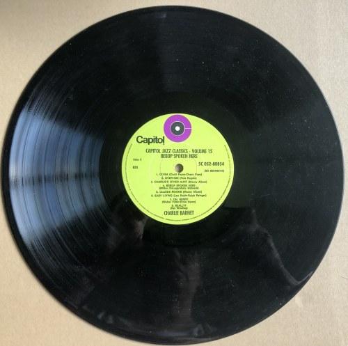 Benny Goodman, Charlie Barnet - Capitol Jazz - Volume 15 Bebop Spoken Here