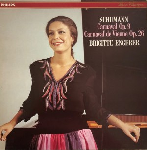 Robert Schumann, Karnawał op. 9, Karnawał wiedeński op. 26, Brigitte Engerer - fortepian
