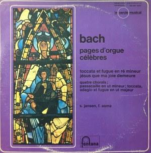 Jan Sebastian Bach, Słynne utwory na organy