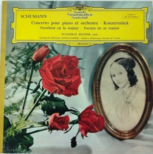 Robert Schumann - Koncert fortepianowy, Konzertstuck, Novelletten, Toccata c-moll, wyk. Swiatosław Richter