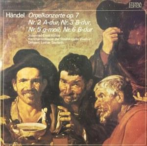 Georg Friedrich Haendel, Koncerty organowe op. 7