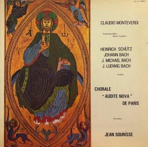 Claudio Monteverdi, Heinrich Schutz, Jan Sebastian Bach, Johann Michael Bach, Johann Ludwig Bach