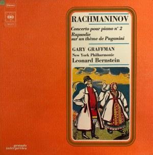 Sergiusz Rachmaninow, II Koncert fortepianowy c-moll op. 18, Rapsodia na temat Paganiniego op. 43, wyk. Gary Graffman, dyr. Leonard Bernstein