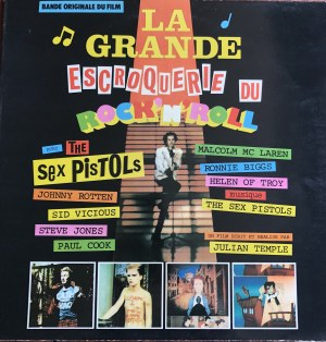 Sex Pistols La grande escroquerie du Rock'n'roll (The Great Rock 'n' Roll Swindle) muzyka filmowa
