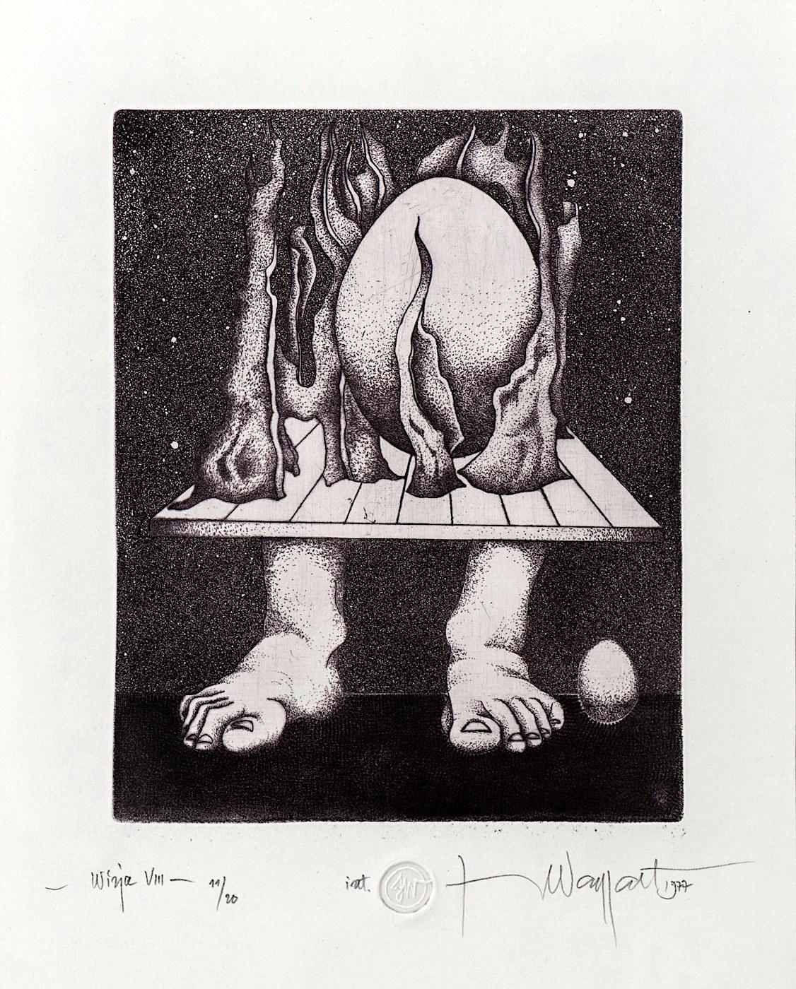 Jerzy Waygart, Wizja VIII, 1977