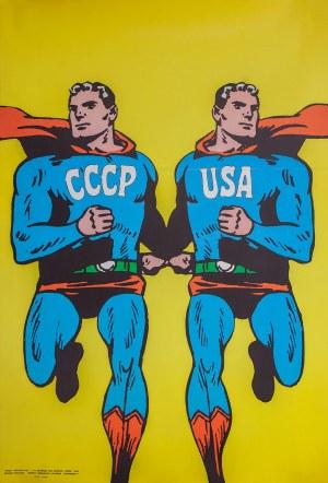 Roman CIEŚLEWICZ (1930-1996), Plakat: Superman, 1968