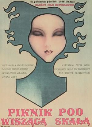 """Plakat do filmu """"Piknik pod wiszącą skałą"""" w reżyserii Petera Weira"""