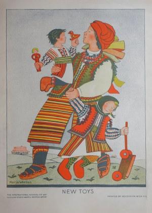 Maria WERTEN (WERTENSTEIN) (1888-1949) – projekt, New Toys, 1930