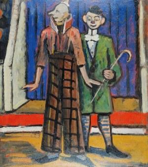 Tymon NIESIOŁOWSKI (1882-1965), Cyrkowcy, ok. 1955