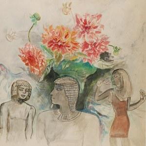 Maja BEREZOWSKA (1898-1978), Egipskie impresje, ok. 1970