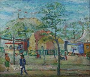 Anna WEINGRUN-LIEBLICH (1904-?), Pejzaż