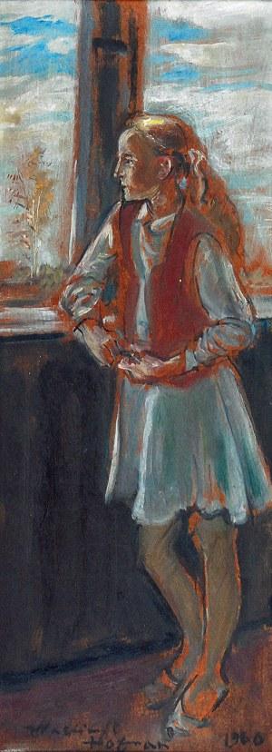 Wlastimil HOFMAN (1881-1970), Dziewczyna przy oknie - Melancholia, 1960