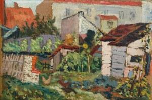 Kazimierz PODSADECKI (1904-1970), Podwórko, 1936