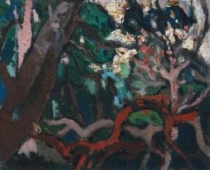 Kazimierz PODSADECKI (1904-1970), Pejzaż z drzewami