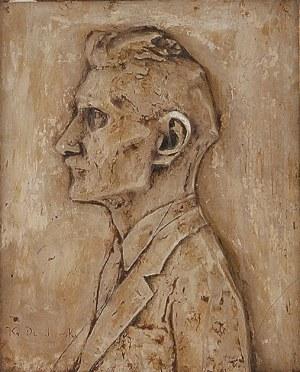 Xawery DUNIKOWSKI ( 1875-1964), Popiersie Ignacego Daszyńskiego (1866-1936)
