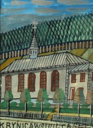 Nikifor Krynicki (Właśc. Epifaniusz Drowniak) (1895 Krynica? - 1968), Krynica