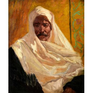 Franz Roubaud (1856 Odessa - 1928 Monachium), Szejk arabski