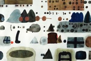 Jan Tarasin (1926 Kalisz - 2009 Warszawa), Abstrakcja, 1992