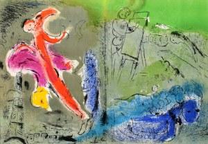 Marc Chagall (1887 Witebsk, Białoruś -1985 Saint-Paul-De-Vence, Francja), Kompozycja