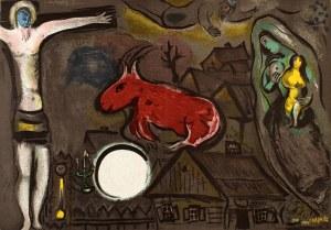 Marc Chagall (1887 Witebsk, Białoruś -1985 Saint-Paul-De-Vence, Francja), Mistyczne Ukrzyżowanie